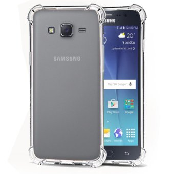 Softcase Silicon Anti Shock / Anti Crack Elegant Softcase  for Samsung Galaxy J5 2015 (J500) - White Clear