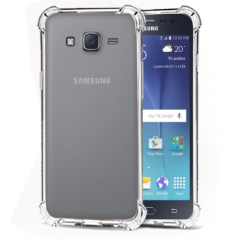 Softcase Silicon Anti Shock / Anti Crack Elegant Softcase  for Samsung Galaxy J7 Core - White Clear