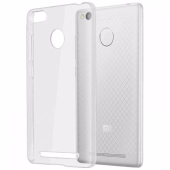 Softcase Silicon Ultrathin for Xiaomi Redmi 3s Pro/Prime - White Clear