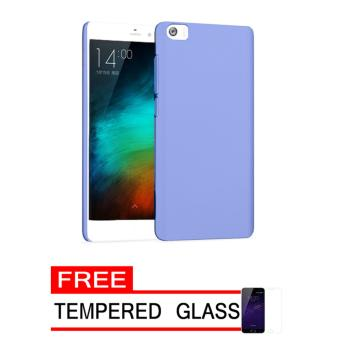 Softcase Ultrathin for Smartfren Andromax R2 - Biru Clear + Gratis Tempered Glass