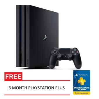 SONY Playstation 4 Pro 1TB CUH-7016B + Free 3 Month Playstation Plus