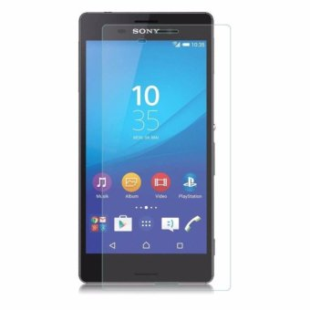 Sony Xperia M4 Aqua  Anti Gores Kaca / Tempered Glass Kaca Bening