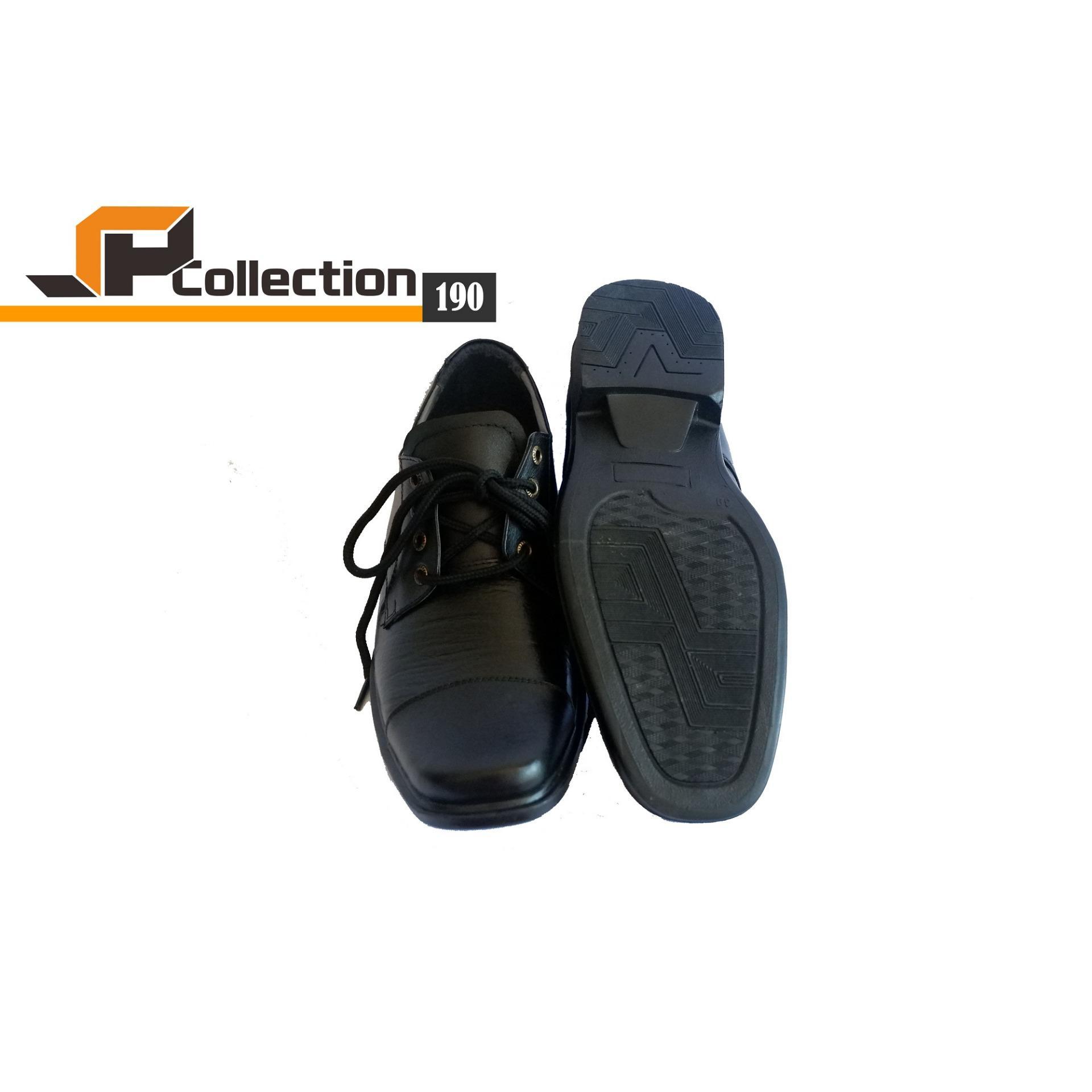 SPATOO Sepatu Pantofel Kulit Asli 190 - Hitam   Sepatu Pantofel Pria   Sepatu  Pria Murah 1c5b5975bc