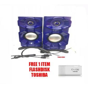 Speaker Aktif Fleco F-026 FREE Flashdisk Toshiba 64GB BD