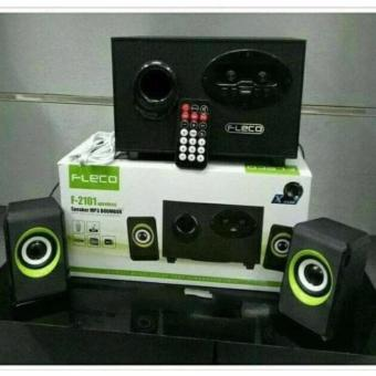 Portable Speaker Aktif Multimedia USB Speaker Bluetooth / FLECO F-2101 Wireless Boombox Musik