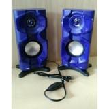 Speaker Multimedia aktif FLECO F 026 F026  Speaker Aktif komputer - 3