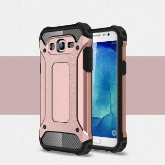 Hardcase for  Samsung j7 core Robot 2in1 Casing Samsung j7 core Case Samsung J7 Core  - rose pink