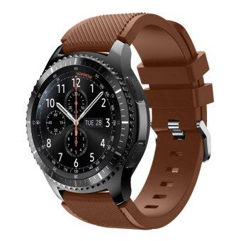 Olahraga Silikon Tali Jam untuk Samsung Galaxy Gear S3 Klasik SM-R770 S3 Frontier SM