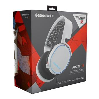 harga SteelSeries Arctis 5 with 7.1 DTS Headphone:X White RGB Lazada.co.id
