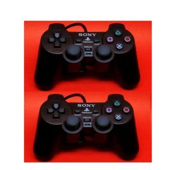 Stick PS2 - PlayStation 2 Soft Button Black (2PCS)