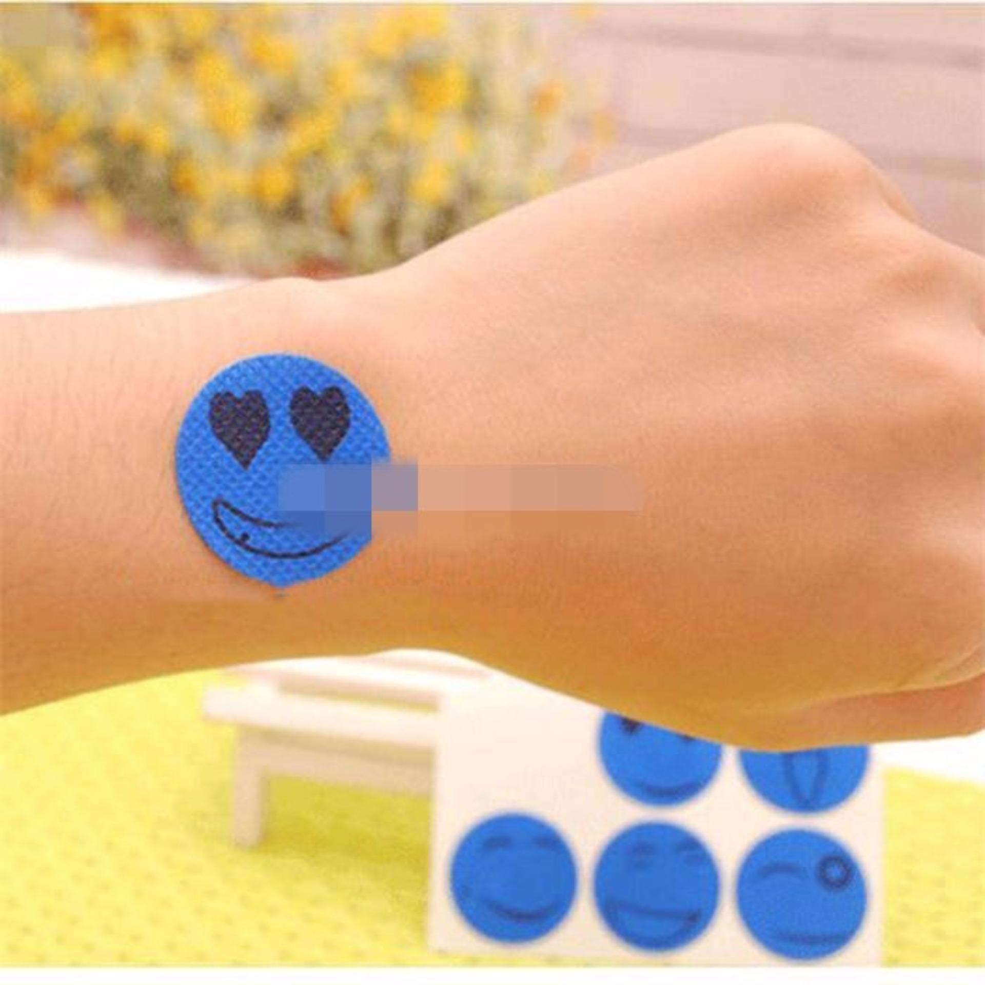 Stiker Anti Nyamuk Isi 6in1 - Sticker Pengaman Bayi Stiker Keamanan - Warna Random