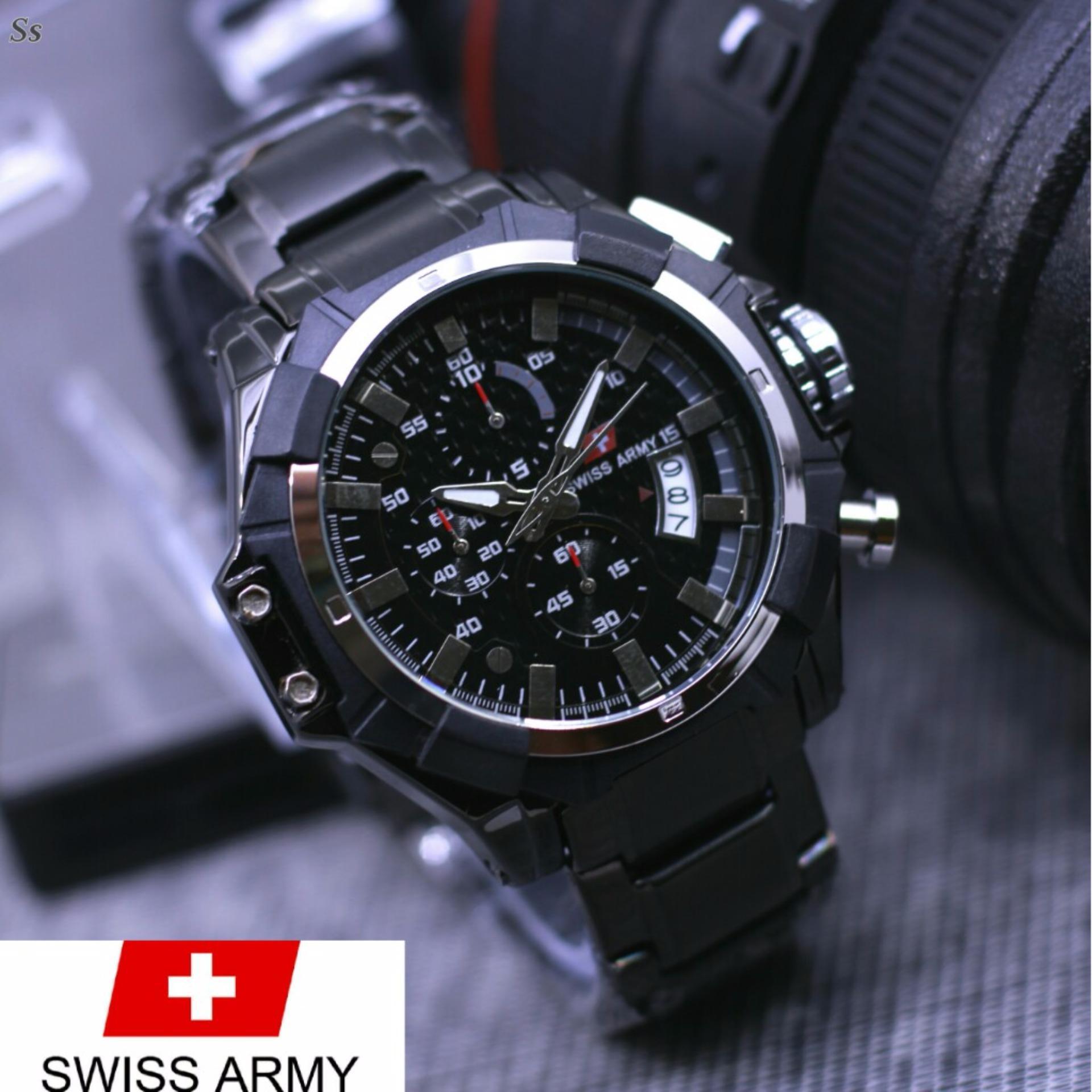 Swiss army lifestyle ORIGINAL for man Chrono aktif Stainless