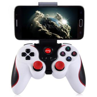 T3 Wireless Bluetooth 3.0 Gamepad Joystick For AndroidSmartphone(White) - intl