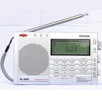 TECSUN Full Band FM/AM Radio Receiver PL-660-Intl