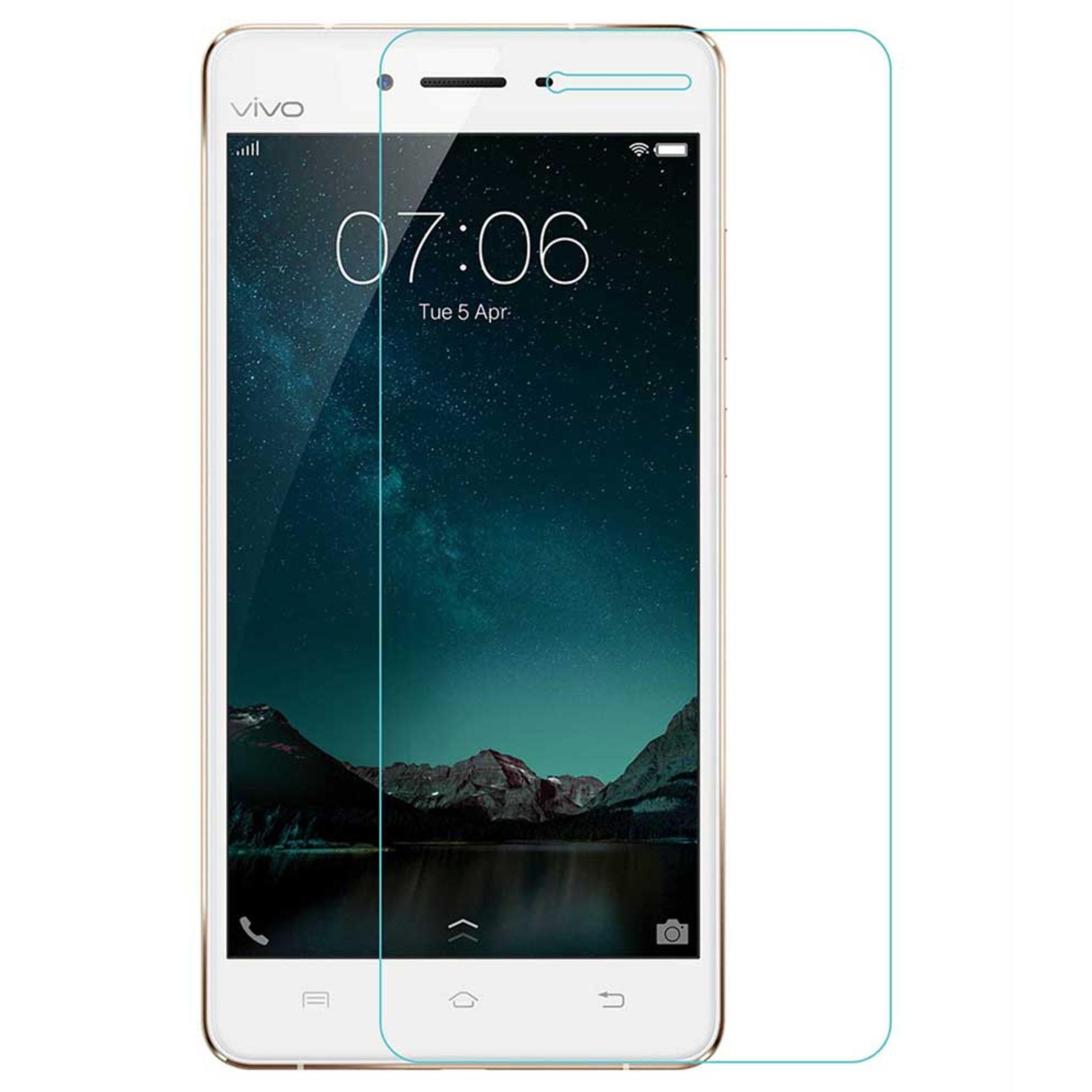 Vn Vivo V3 Tempered Glass 9H Screen Protector 0.32mm - Transparan