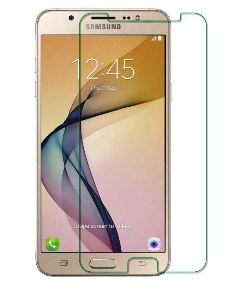 Vn Samsung Galaxy J7+ Plus / C8 / 4G LTE / Duos Tempered Glass 9H Screen