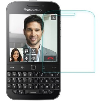 Tempered Glass Blackberry Q20 Screen Protector - Putih Transparant