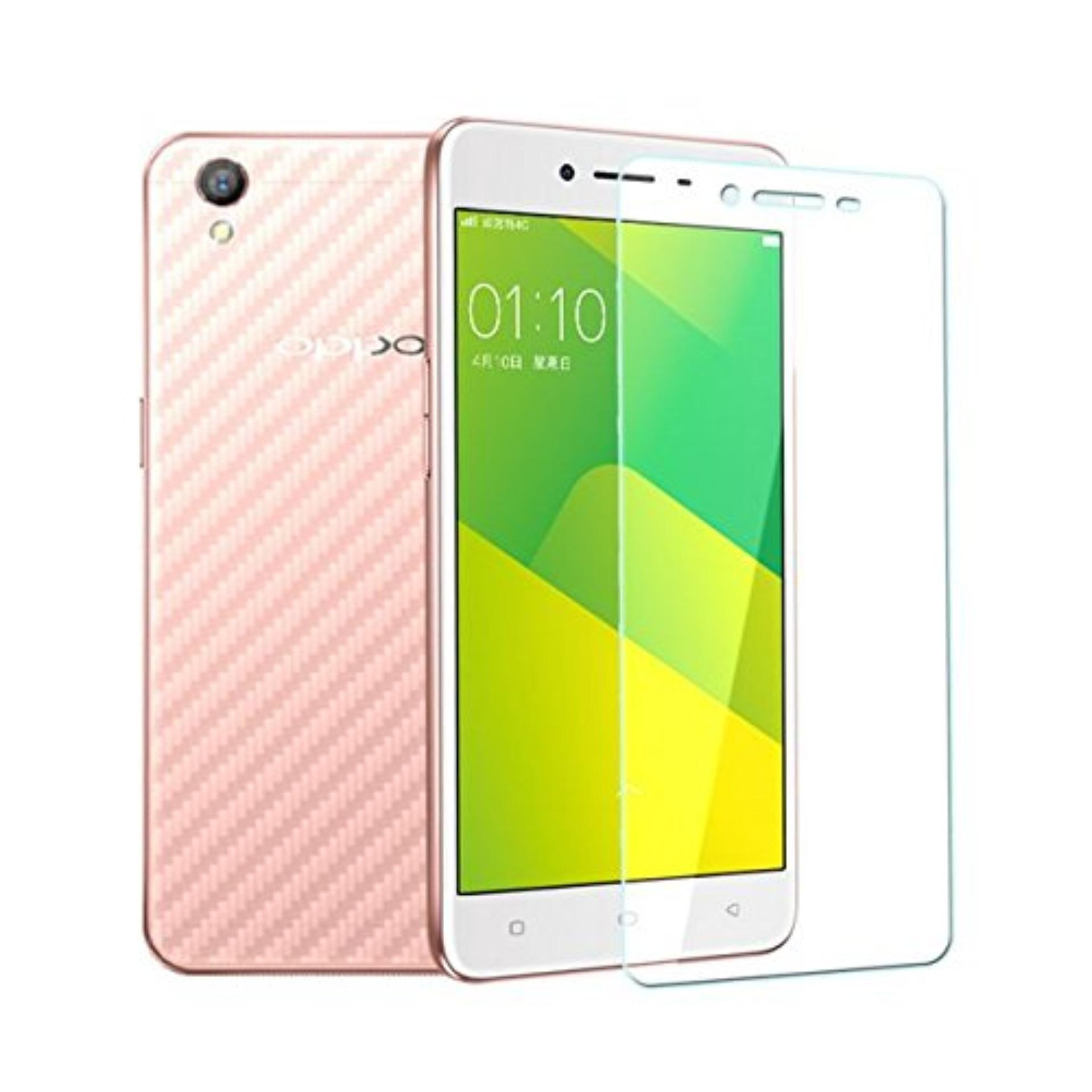 Vn Oppo A71 Tempered Glass Screen Protector 0.32mm - Anti Crash Film - Bening Transparan