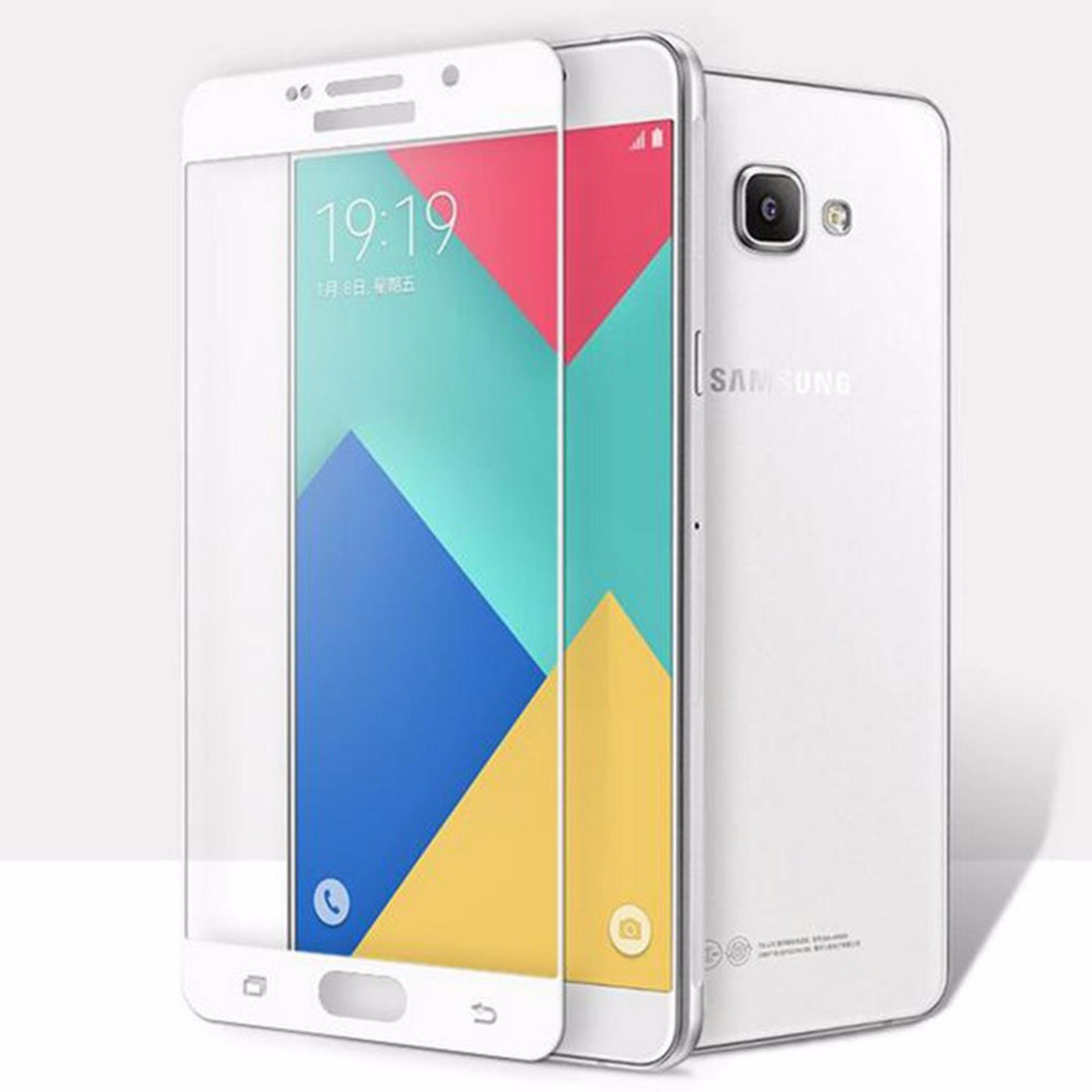 Hot Deals Tempered Glass For Samsung Galaxy A5 2017 A520 9H Full Screen White Screen Anti