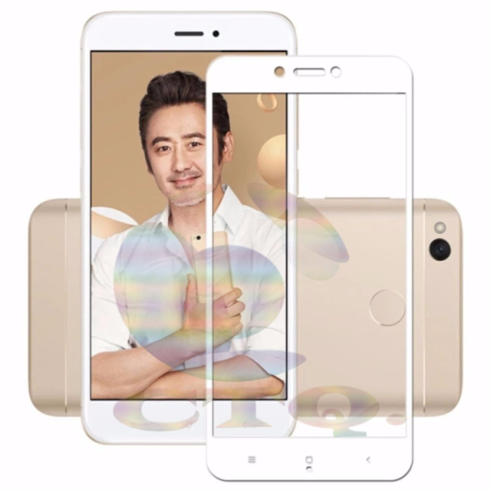 Review of Tempered Glass Full Screen White For Xiaomi Redmi 4X 9H Screen Anti Gores Kaca
