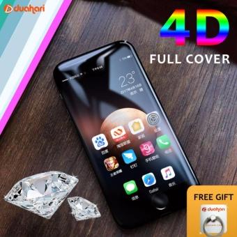 Tempered Glass EMAS FULL COVER 4D untuk iPhone 7 PLUS 4D iPhone 7+ Tempered Glass