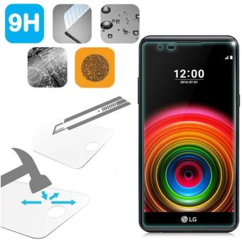 Tempered Glass LG X Power Ukuran 5.3 Inch Temper Anti Gores Kaca 9H / Pelindung Layar