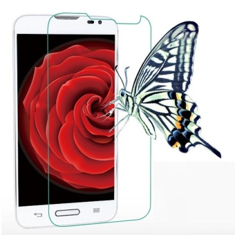 Tempered Membran Kaca Screen Protector Film untuk LG Optimus L70 D325-Intl ...