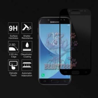 Tempered Glass Samsung Galaxy J3 Pro 2016 J3110 9H Full Screen Black Screen Anti Gores Kaca