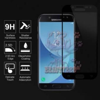Tempered Glass Samsung Galaxy J5 Pro J530 9H Full Screen Black Screen Anti Gores Kaca /