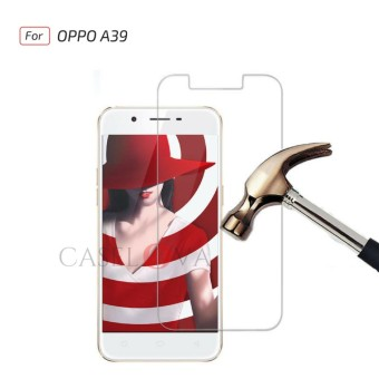 Tempered Glass Screen Protector Anti Gores Kaca OPPO A39 - Clear