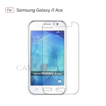 Tempered Glass Screen Protector Anti Gores Kaca Samsung Galaxy J1 ACE - Clear