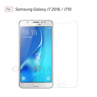 Tempered Glass Screen Protector Anti Gores Kaca Samsung Galaxy J7 2016 / J710 - Clear