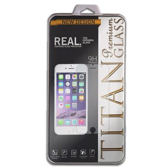 Tempered Glass Titan for Samsung Galaxy E5 - Rounded Edge 2.5D - Clear
