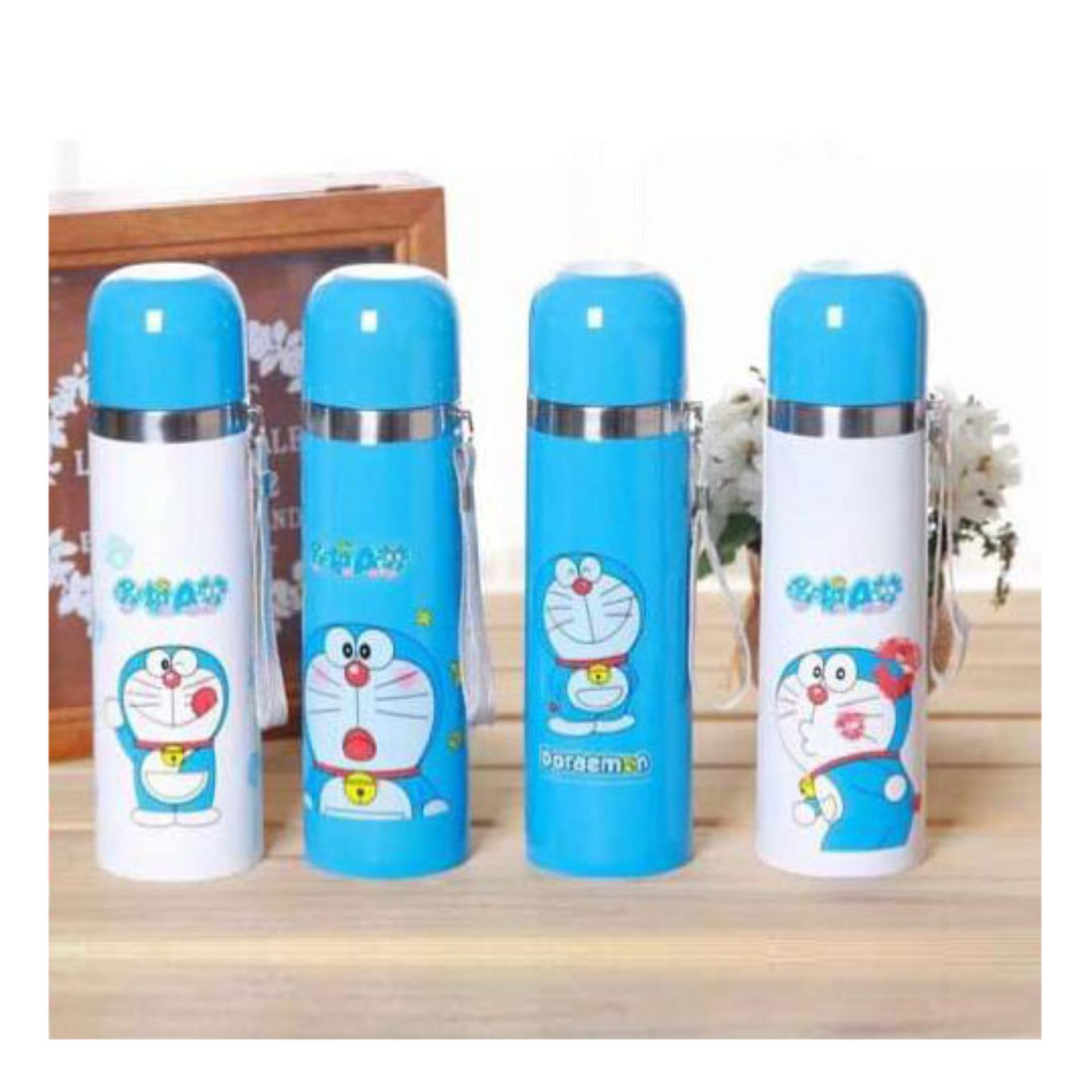 Termos Air Stainless Steel Karakter Doraemon 500ml Vacuum Flask