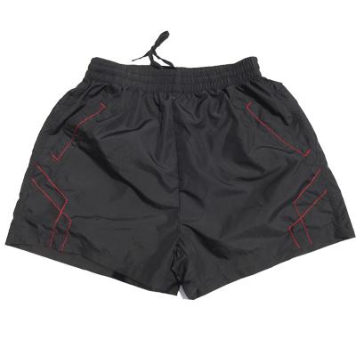 Tiga Poin Celana Pendek Anyaman Bagian Tipis Celana Dalam Pria Kasual (Besar Hitam)