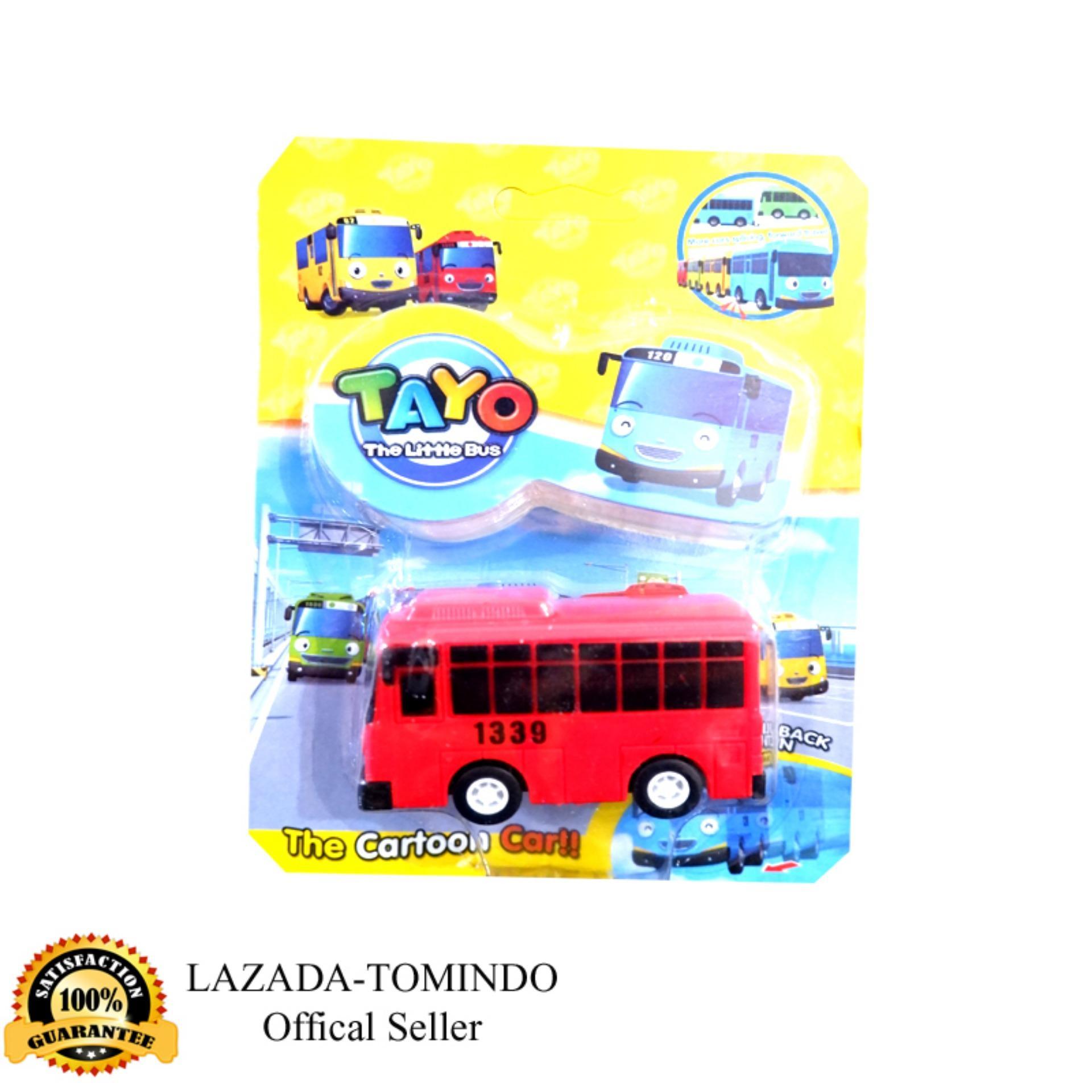 Cek Harga Baru Gani Tayo Bus Kecil Mainan 118 Pcs Tumpukan Blok Katalog Anak Lelaki Tomindo Toys The Little Merah 333 005 Pull