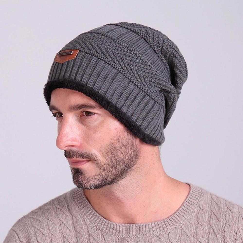 Fitur Topi Kupluk Beanie Wool Winter Premium Quality Blue Dan Harga ... ba3442b812
