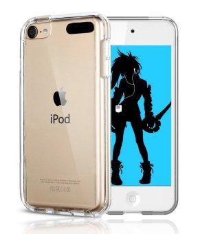 TPU Bumper Case Hybrid untuk iPod Touch 6/iPod Touch 5 (jelas)