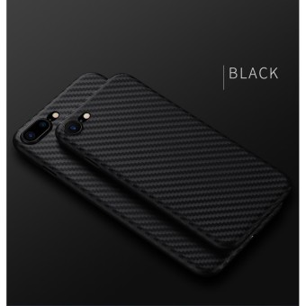 TPU Carbon Case Black Only for Oppo A37 / NEO 9 Softcase TPU - Hitam