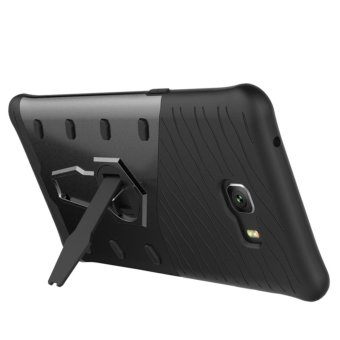 TPU + PC 360 Degree Rotating Armor Hybrid Case Cover for Samsung Galaxy C9 Pro -
