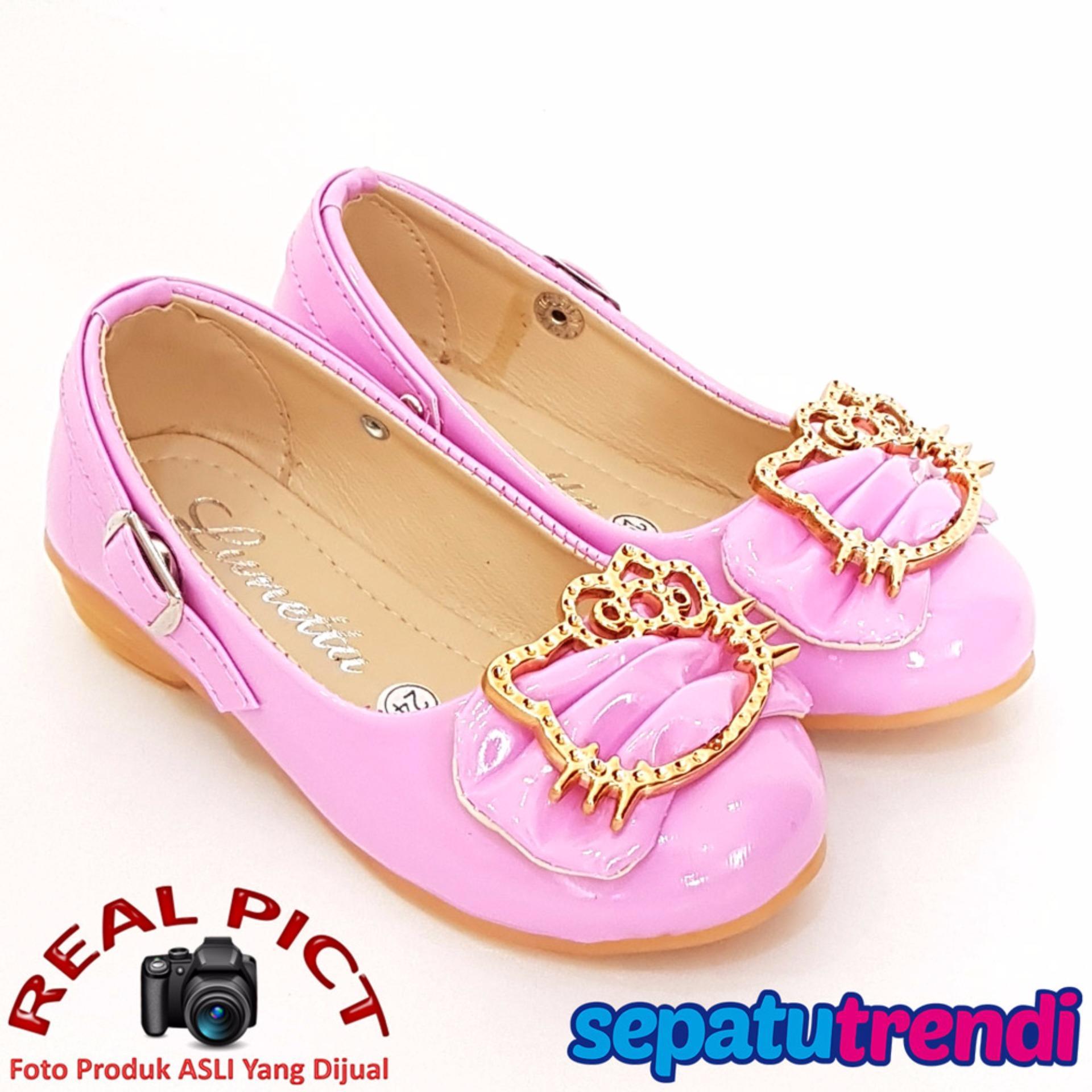 TrendiShoes Sepatu Anak Perempuan Cantik LNHK - Pink