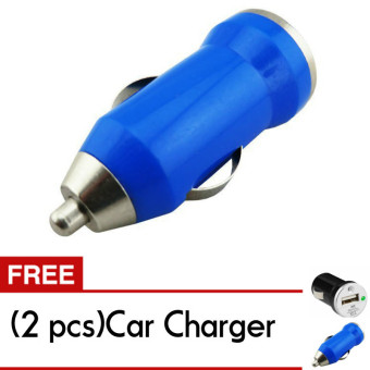Trend's Car Charger 1A 1 Port - Casan Mobil Free 2pcs Charger mobil
