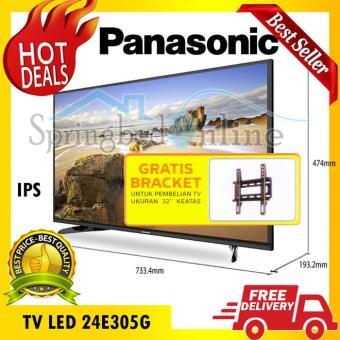 TV LED PANASONIC IPS 32E305G Hard Panel 32 Inch Free Braket