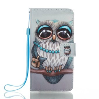 UEKNT Stand Folio Case for Samsung Galaxy A5 2017 PU Leather Flip Cover Case Wallet Credit