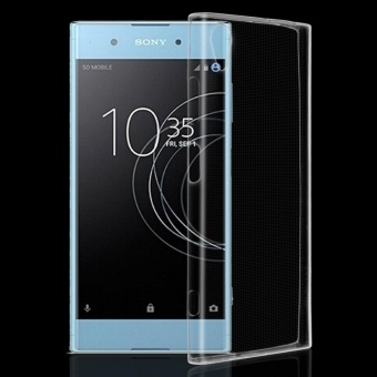 Ultra Tipis Jelas Lembut Silicone Gel TPU Case Cover Kulit untuk SONY Xperia XA1 Plus-