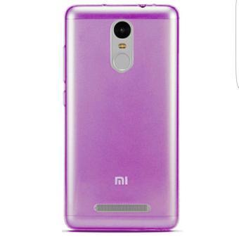 Softcase Ultrathin casing Case for Xiaomi Redmi Note 3 - Purple