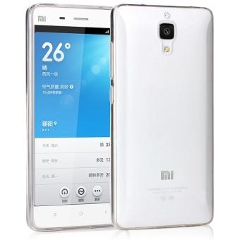 Ultra Thin TPU Soft Case Casing Cover Xiaomi Mi4 - Transparan