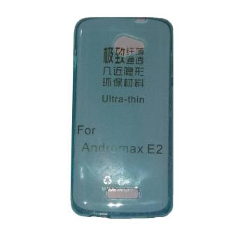 Ultrathin Case For Andromax E2 UltraFit Air Case / Jelly case / Soft Case - Biru