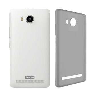 Ultra thin Clear Softcase Casing for Lenovo A7700 - Abu-abu