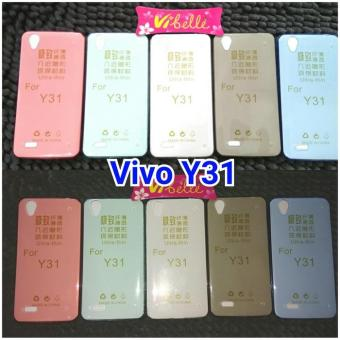 Ultrathin Softcase Vivo Y31 / Ultra Thin Soft Back Jely Case Vivoy31